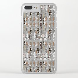 My Herd of Hippocampus Clear iPhone Case