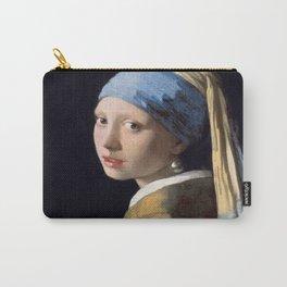 Vermeer, Girl with a Pearl Earring,Meisje met de parel,La joven de la perla Carry-All Pouch