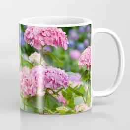 Pink & Lavender Flower Clusters Coffee Mug