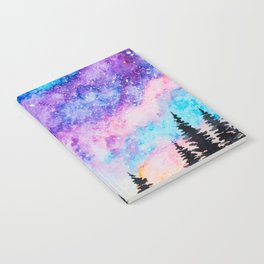 Sunset and Galaxy Notebook