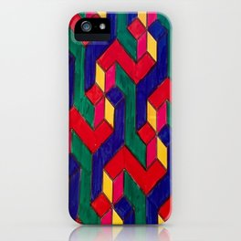 Pitter Patter(n) iPhone Case