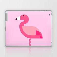 Geometric flamingo Laptop & iPad Skin