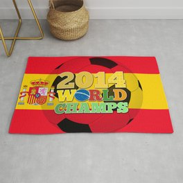2014 World Champs Ball - Spain Rug
