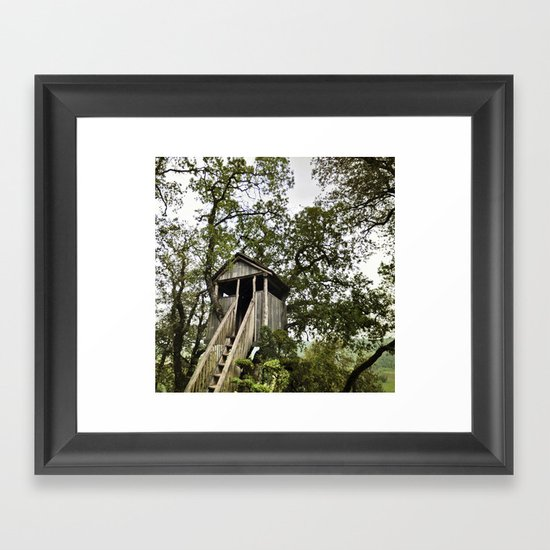 dream house Framed Art Print