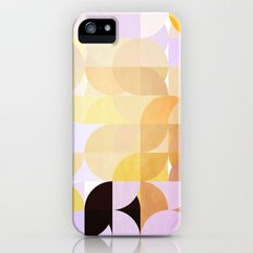 Retro Dots Orchids Slim Case iPhone (5, 5s)