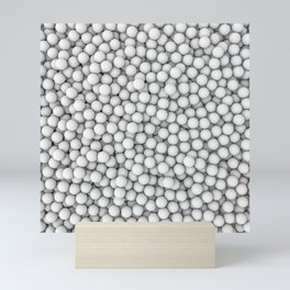 Golf balls Mini Art Print
