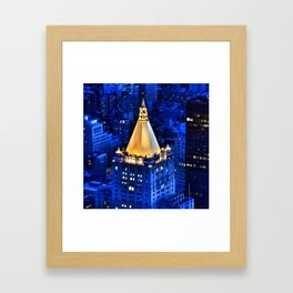 New York Life Building Framed Art Print