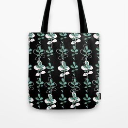 Midnight leves Tote Bag