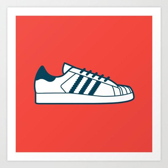 #56 Adidas Superstar Art Print