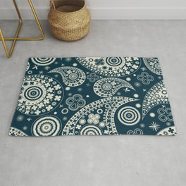 Clover seamless paisley pattern Rug