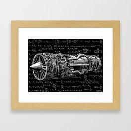 Thrust matters! Framed Art Print