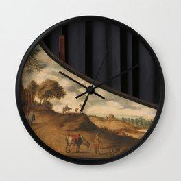 Lid of a Clavichord, Gerard van der Horst (copy after), after c. 1625 Wall Clock