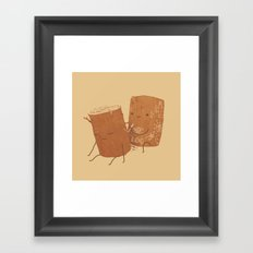 Loggy Modification Framed Art Print