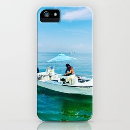 Farm to Table Oysters iPhone Case