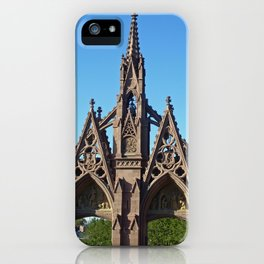 Green-Wood Cemetery iPhone Case