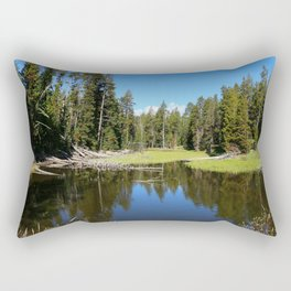 Morning Serenity At The Yellowstone NP Rectangular Pillow