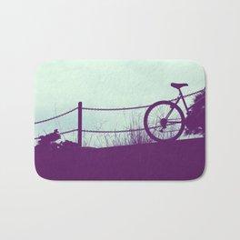 fence and bike Bath Mat