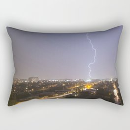 City Lightning. Rectangular Pillow