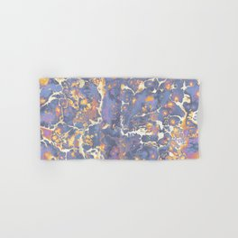 Complementary Paint Marble Hand & Bath Towel