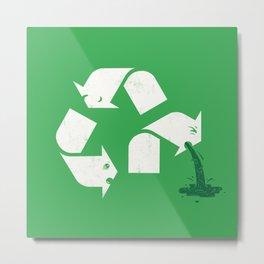 Green Sickness Metal Print