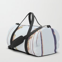 Palm tree stripes Duffle Bag