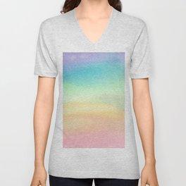 Pride Watercolor Wash Unisex V-Neck