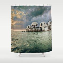 Cape Romano Shower Curtain