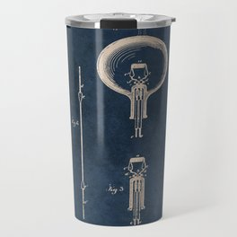 Electric lamp Edison patent art Travel Mug