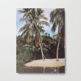 Gator Island Metal Print