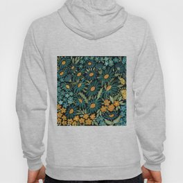 Watercolor . Chamomile field. 2 Hoody