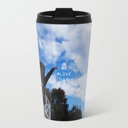 We #LOVE Sky! - Black Creek Pioneer Village, Toronto, ON, Canada Travel Mug