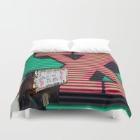 the xx Duvet Covers featuring XX by leaff