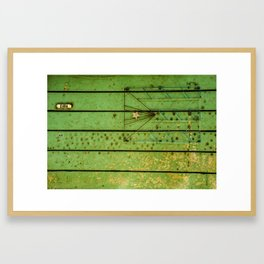 Diagramas abstractos Framed Art Print
