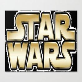 Logo S W (yellow) Canvas Print