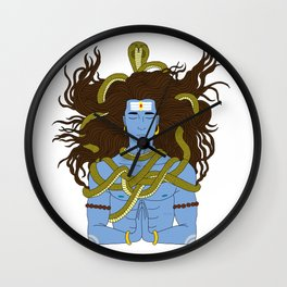 Shiva: The Destroyer Wall Clock