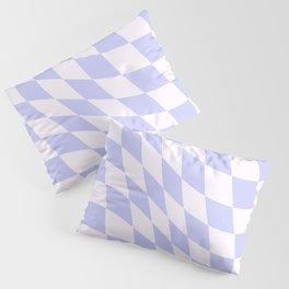 Warped Check - Periwinkle  Pillow Sham