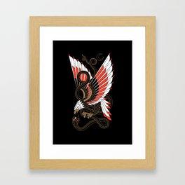 Americana - Eagle & Serpent Framed Art Print