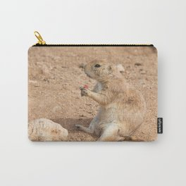 Prairie Dog Snack Time Carry-All Pouch