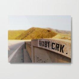 Bixby Crk. Metal Print