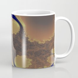 Pinkbrown(blue) Pattern 11 (Fractal) Coffee Mug