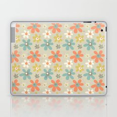 flowers pattern Laptop & iPad Skin