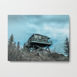 Devil's Peak Metal Print