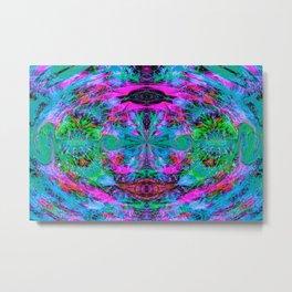Hazy Visions V Metal Print