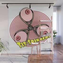 Tit Spinners Wall Mural