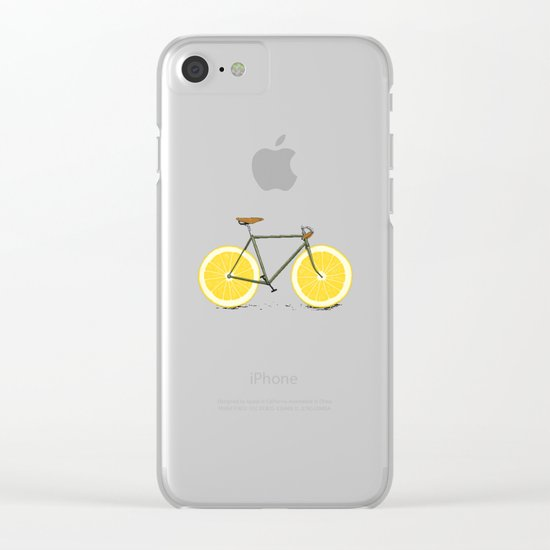 Zest Clear iPhone Case