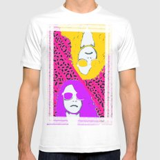 Frame the FAME - Shirane Mens Fitted Tee White MEDIUM