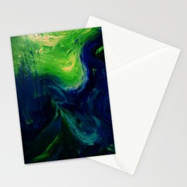Abstract Hurricane by Robert S. Lee Stationery Cards