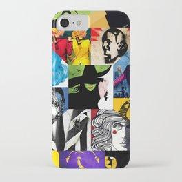 Musicals Collage iPhone Case