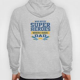 Funny Best Dad Daddy Father Day Superhero Gift Hoody