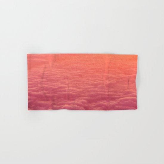pink clouds Hand & Bath Towel